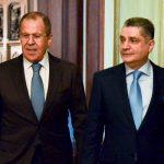 Председатель Коллегии ЕЭК Тигран Саркисян и министр иностранных дел РФ Сергей Лавров обсудили развитие экономических связей ЕАЭС с третьими странами