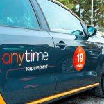Каршеринговый сервис Anytime: 4000 аренд за 4 дня