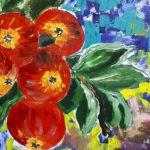 Юбилейная выставка Кармине Барбарo  «Яблoкo любви»