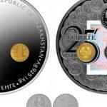 Нацбанк выпустит серебряную монету весом 1 килограмм