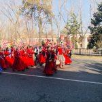 Праздничное шествие устроили в Алматы на Наурыз