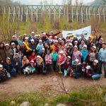 Волонтеры движения Жылы Журек высадили деревья в государственном парке «Медеу»