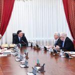 Мамин провел встречу с Госминистром по делам Европы и Америки МИД Великобритании