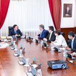 Мамин обсудил с представителем Chevron перспективы развития нефтегазового машиностроения в Казахстане