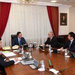 Мамин обсудил с Послом Японии развитие торгово-экономического сотрудничества