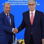 Токаев — президенту ЕБРР: «Я был знаком со всеми вашими предшественниками»