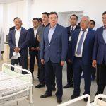 Аскар Мамин проинспектировал ход восстановительных работ в г. Арысь и строительства объектов в Туркестане