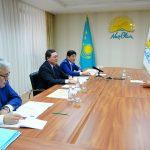 Премьер-Министр РК Аскар Мамин провел личный прием граждан в общественной приемной «Nur Otan»