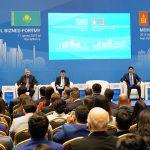 Премьер-Министр А.Мамин и Премьер-Министр Монголии У.Хурэлсух приняли участие в открытии Казахстанско-монгольского бизнес-форума