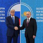 Касым-Жомарт Токаев и Владимир Путин обсудили сотрудничество